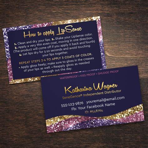 Senegence Business Card Template by Best 25 Lipsense Business Cards Ideas On Lip