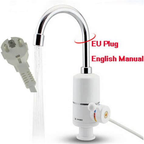 no hot water in kitchen faucet no hot water in kitchen faucet aliexpress buy eu plug sec instant tankless