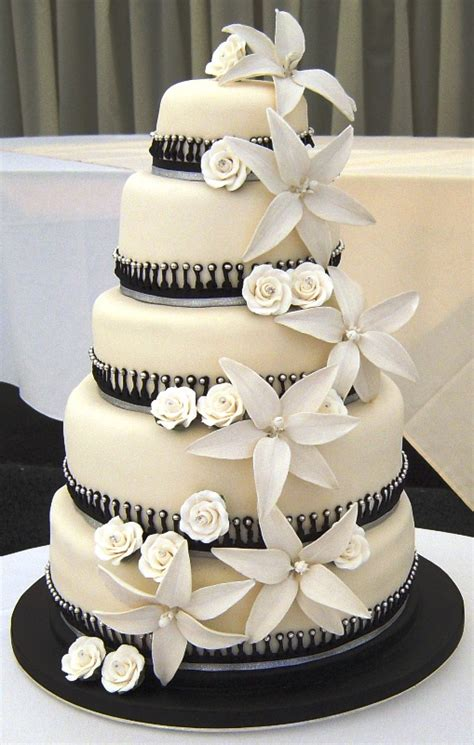 Black And White Wedding Cakes by Amazing Black And White Wedding Cakes 40 Pic Awesome