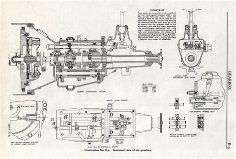 car gearbox diagram xpag gearbox rebuild part two removing gearbox y type
