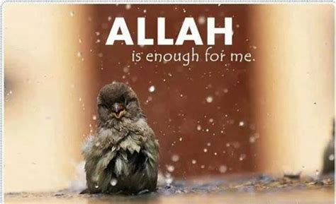 Poster Islami Inspiratif Allah Is Enough For Me delightful posters one lecture