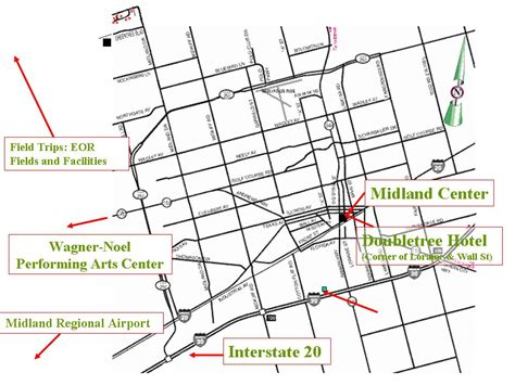 map of midland texas and surrounding areas co2 roz conference agenda