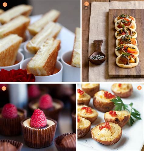 appetizers mini catering mini appetizers exquisite weddings