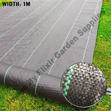 1mt x 50mt heavy duty woven fabric