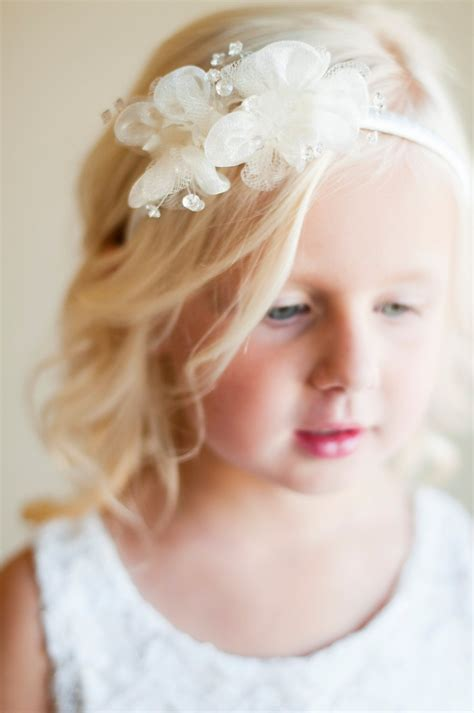 flower girl hair accessories wedding hair accessories pinterest