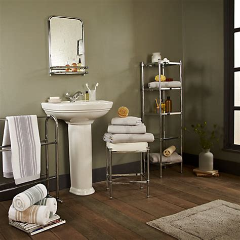 john lewis bathroom shelves buy john lewis restoration bathroom wall mirror with shelf