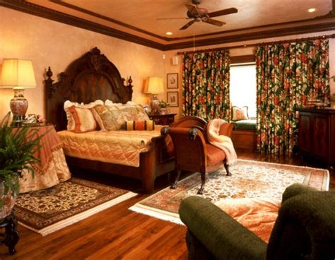 warm bedroom warm bedrooms design in old school style by maura taft