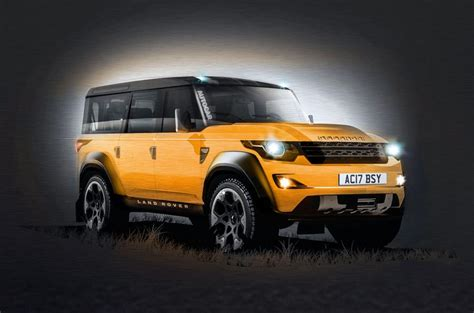 new land rover defenders new land rover defender due in 2019 autocar