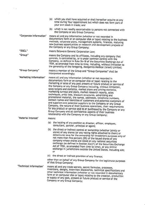 appointment letter format executive director aevi genomic medicine inc form 8 k ex 10 1 non