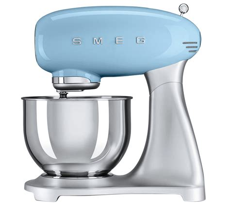 buy smeg smfpbuk  retro stand mixer pastel blue