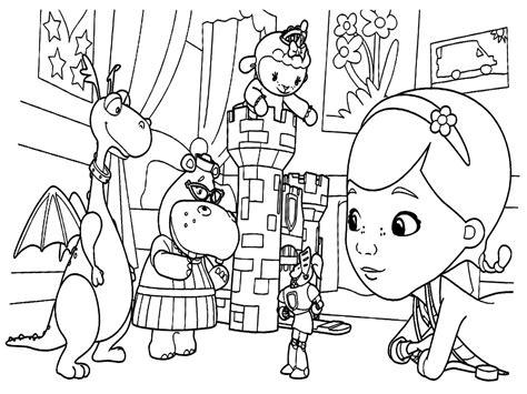 imagenes para colorear la doctora juguetes descargue e imprima gratis dibujos para colorear doctora