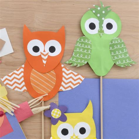 Owl Craft Paper - 25 best ideas about paper owls on met