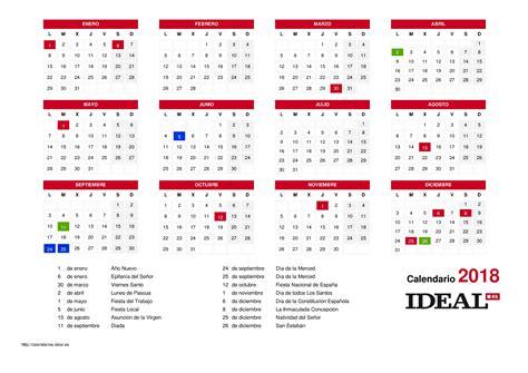Calendario Anual 2018 Calendario Anual 2018 Expin Franklinfire Co