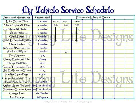 free vehicle maintenance log template car maintenance checklist spreadsheet laobingkaisuo