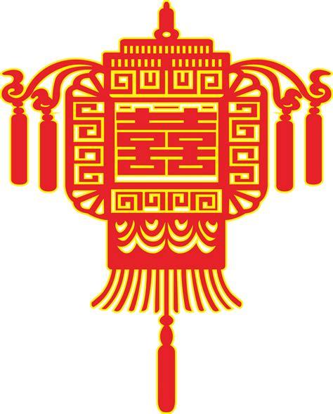 oriental pattern font chinese lantern shape wedding paper cut patterns coreldraw
