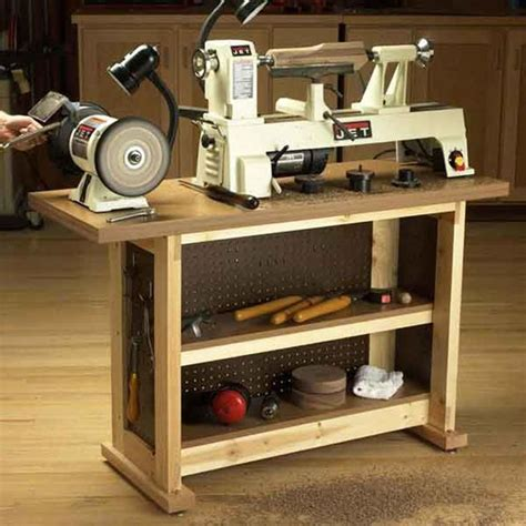 wood lathe bench plans woodturning lathe stand plans woodworking projects plans