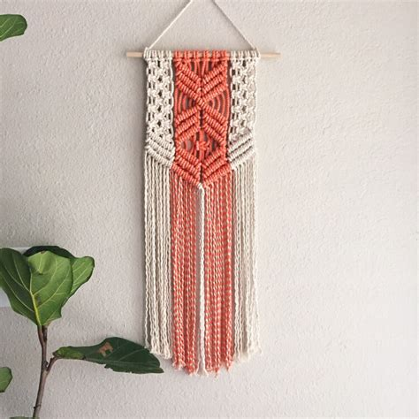 Macrame Projects - 11 modern macrame patterns happiness is