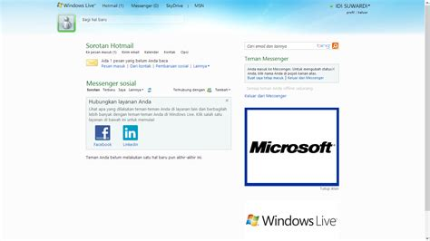 membuat email server di windows cara membuat email di windows live atau hotmail idi suwardi