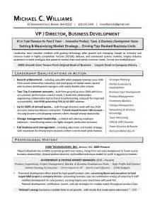 Sample Business Development Resume sample business development resume resume services for executives