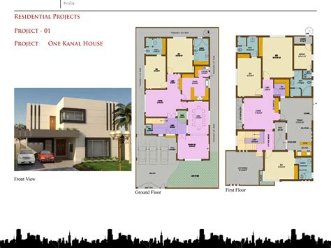home design by engineer 100 marla house plans civil engineers 1 kanal home