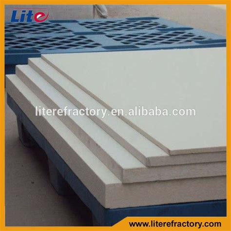 Fireplace Insulation Board by High Temerature Thermal Insulation Alumina Silicate