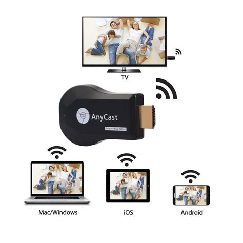 Anycast M4 Plus Wireless Dongle Receiver anycast m4 plus wireless wifi display dongle receiver
