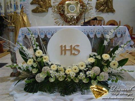 arreglos florales para confirmacion en iglesias resultado de imagen para dekoracje komunijne eucarist 237 a