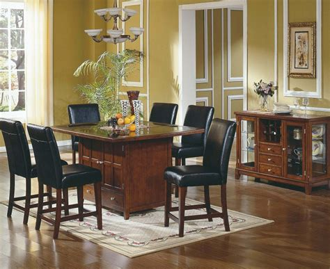 kitchen island dining table dining suite kitchen serena island table 6 chairs set ebay