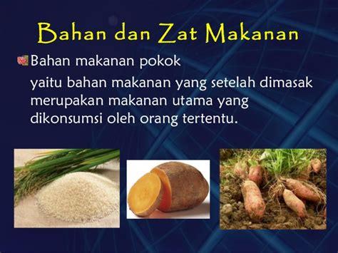 Komponen Minor Dan Bahan Tambahan Pangan komponen kimia bahan pangan