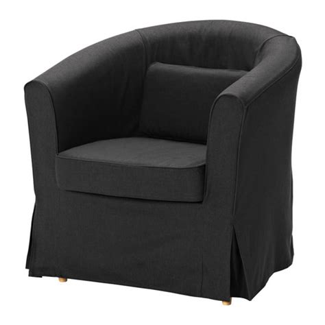 barrel chair slipcover ikea ektorp tullsta chair idemo black ikea