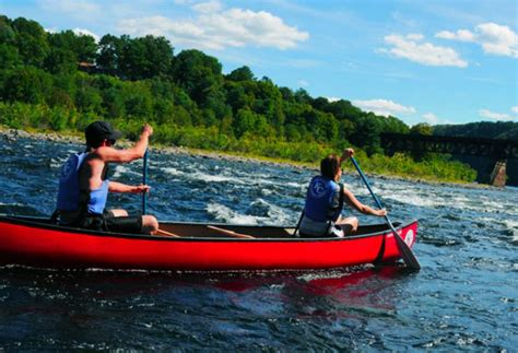 canoes harrisburg pa paddling the delaware water gap other pa locales visitpa