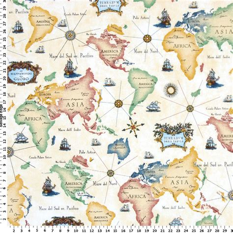 map fabric world map fabric drapery fabric upholstery fabric slip