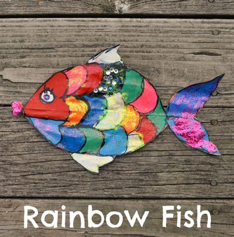 fish crafts for rainbow fish craft for latta creations