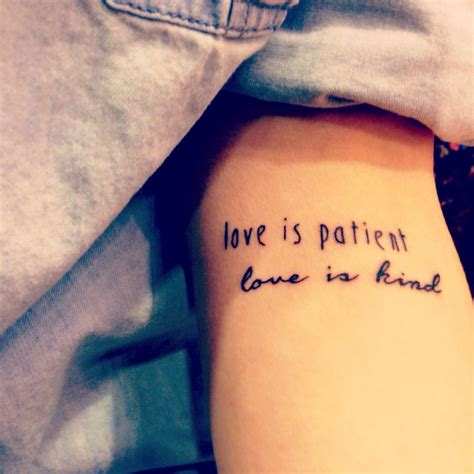 tattoo love is patient best 25 1 corinthians 10 ideas on pinterest 1
