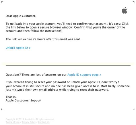 email apple support indonesia clever phishing scam targets your apple id and password