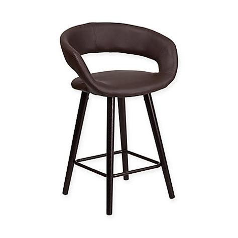 24 inch counter stools white buy flash furniture 24 inch counter stool in