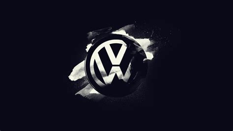 volkswagen logo black and white volkswagen logo wallpaper wallpapersafari