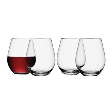 Stemless Wine Glasses Lsa Stemless Wine Glass Wine Gift Centre