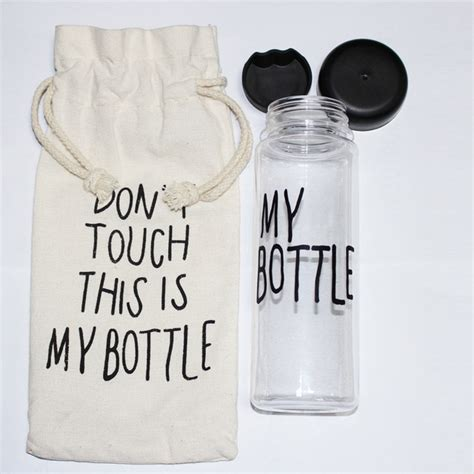 My Bottle Free Pouch Cantik shop quot my bottle quot 500 ml korea style plastic clear portable sportive water bottle with