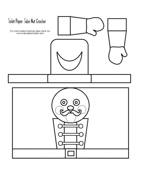 cardboard tube nutcracker puppet