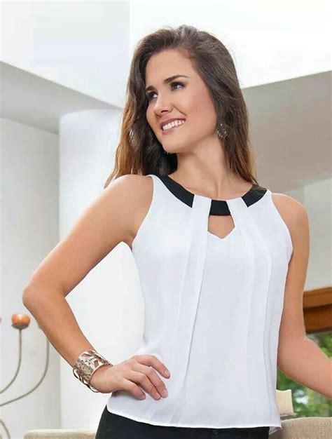 imagenes de blusas blancas juveniles las 25 mejores ideas sobre blusas en pinterest y m 225 s