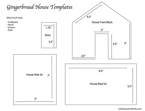 templates for gingerbread houses gingerbread roof template after i baked the gingerbread