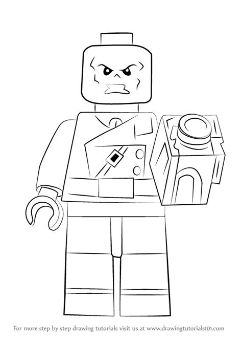 lego joker tutorial learn how to draw lego red skull lego step by step