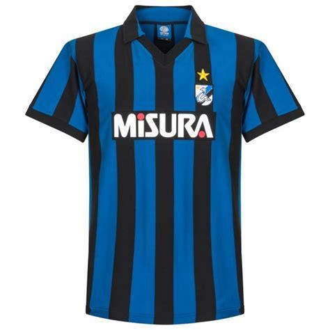 Baju Retro Inter Milan 86 87 inter milan home retro shirt zamorano 1 8