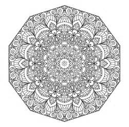 mandala coloring pages complicated difficult mandala coloring pages coloring home