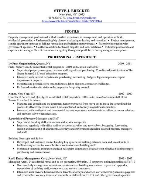 resume property manager assistant danaya us