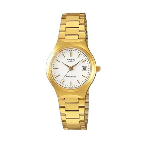 Jam Tangan Wanita Cewek Casio Analog Ltp 1215a 2a Silver Rantai jual casio analog ltp 1170n 7adf jam tangan wanita harga kualitas terjamin