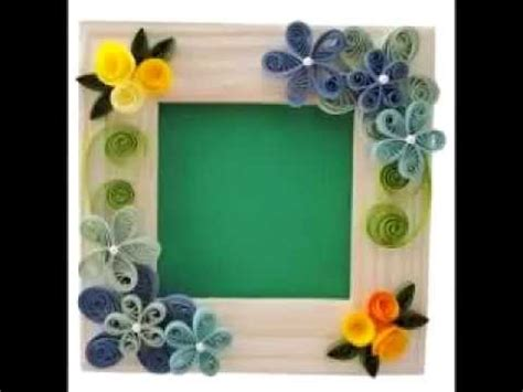 Designs Of Handmade Photo Frames - handmade photo frame craft ideas