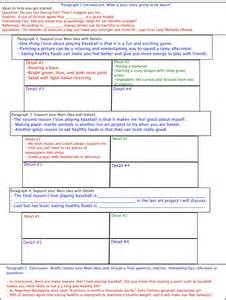 Teaching The 5 Paragraph Essay by Teaching Five Paragraph Essay Graphic Organizers