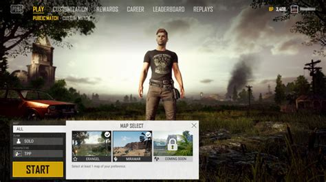 pubg   map selection  variety